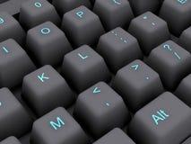 Pc Keyboard Stock Photo