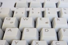 PC keyboard Royalty Free Stock Image
