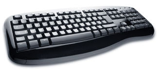 PC Keyboard Royalty Free Stock Photo