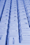 PC keyboard, close-up Royalty Free Stock Photo