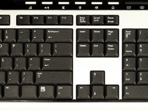 PC Keyboard - Closeup Stock Image