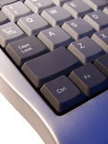Pc keyboard, macro concept Royalty Free Stock Photography