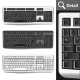 Pc keyboards Royalty Free Stock Photo