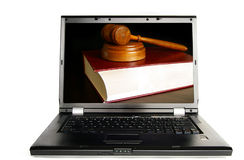 PC law Stock Photo