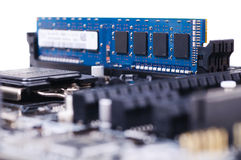 PC Mainboard Royalty Free Stock Photo