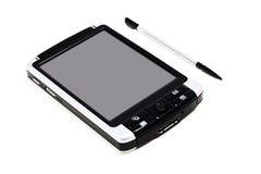 PC mobile con lo stilo Fotografia Stock