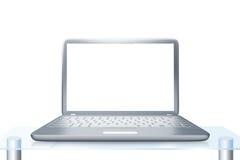 PC moderna del ordenador portátil Foto de archivo