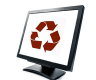 PC monitor Stock Images