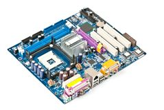 PC motherboard Royalty Free Stock Photo