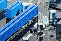 PC motherboard Royalty Free Stock Photography