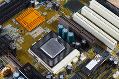 PC motherboard Royalty Free Stock Images