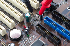 PC motherboard Stock Photography