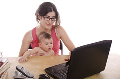 PC Motherhood Royalty Free Stock Photos
