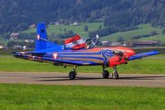 PC-7 Pilatus photographie stock libre de droits