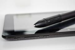 PC réaliste de tablette photo stock