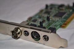 PC-raad - interne TV-tunerkaart Royalty-vrije Stock Afbeelding