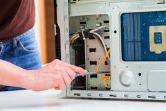 Pc repair stock photos