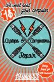 PC repair banner Royalty Free Stock Photos