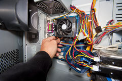 PC service Stock Photography
