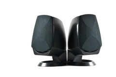 Pc speakers royalty free stock images