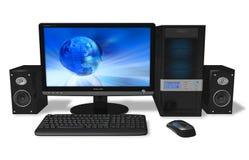 PC van de Desktop royalty-vrije illustratie
