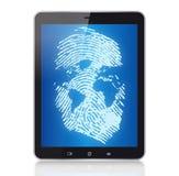 PC van de tablet en digitaal concept Royalty-vrije Stock Afbeelding