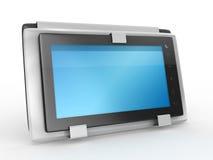 PC van de tablet met geval Royalty-vrije Stock Afbeelding