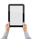 PC van de Tablet van de holding Royalty-vrije Stock Foto's