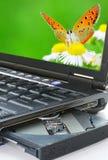 PC van het notitieboekje Stock Fotografie