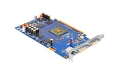 PC video card, DOF Royalty Free Stock Images