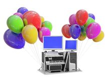 PC Workstation gift Stock Images