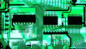 PCB 1 Royalty Free Stock Photo