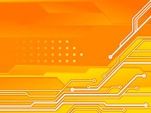 PCB. Print circuit board for electronic and line PCB Stock Images