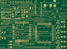 PCB. Print circuit board for electronic and line PCB Stock Photo