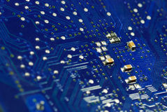 PCB. Is print circuite board ,Electronic for Main Board computer Royalty Free Stock Photography