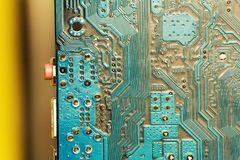 PCB board Stock Images