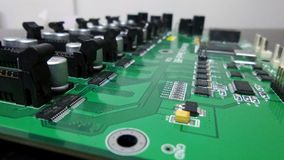 PCB controller mainboard Royalty Free Stock Images