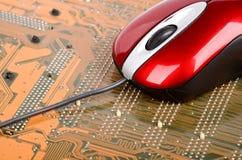 PCB i komputeru mysz obrazy royalty free