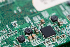 PCB macro shot Royalty Free Stock Photography