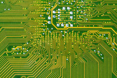 Pcb motherboard Stock Image