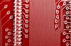 PCB (Printed circuit board) Stock Photo