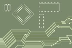 PCB (printed circuit board) 20 Royalty Free Stock Images
