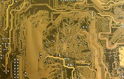 PCB Printed Circuit Board.  Stock Photography