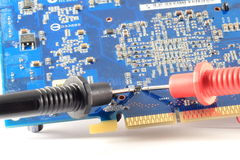 PCB Repair Royalty Free Stock Photography