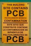 pcb-tecken Fotografering för Bildbyråer