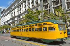PCC - Tranvía del tranvía de presidentes Conference Committee en San Fran Imagenes de archivo