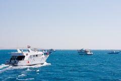 Pêche dans l'océan Photographie stock libre de droits