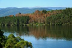 Pchelina Dam, Bulgaria Royalty Free Stock Images