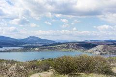 Pchelina lake in Bulgaria Royalty Free Stock Images