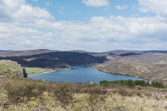 Pchelina lake in Bulgaria Royalty Free Stock Photography